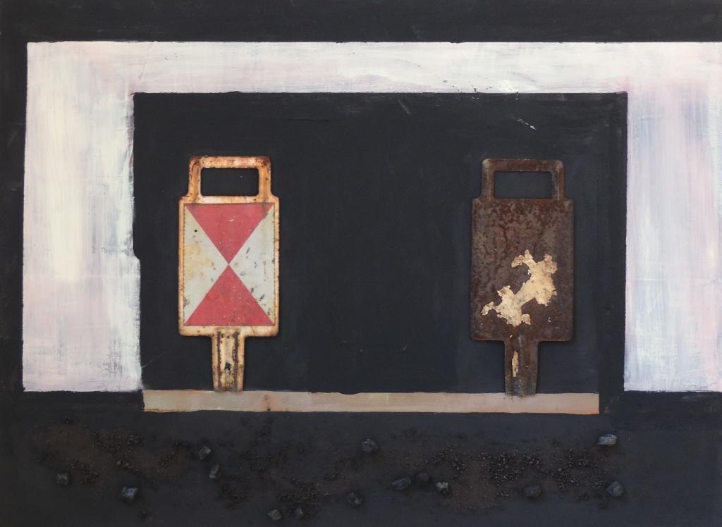 """Installation """"Zechenkörbe"""" zur Eröffnung der ENERGY ART 2014"""