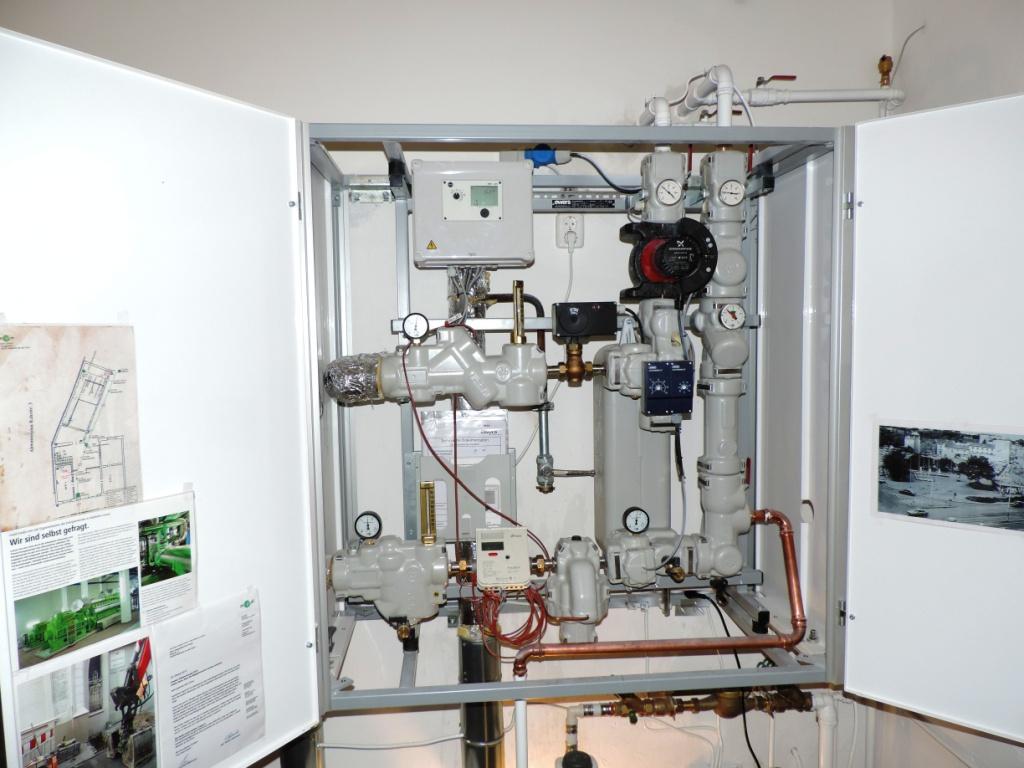 Energiewende im Kunsthaus Mülheim Ruhrstr. 3 mit Kraft-Wärme-Kopplung (KWK) eingeläutet
