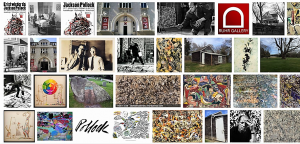 "Auswertung ""Jackson Pollock"" in Google im Januar 2017"