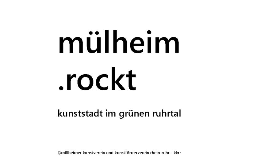Mit dem Fahrrad zur ENERGY-ART RUHR 2014 in die Kunststadt Mülheim an der Ruhr